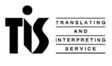 TiS Translating and Interpreting Service logo
