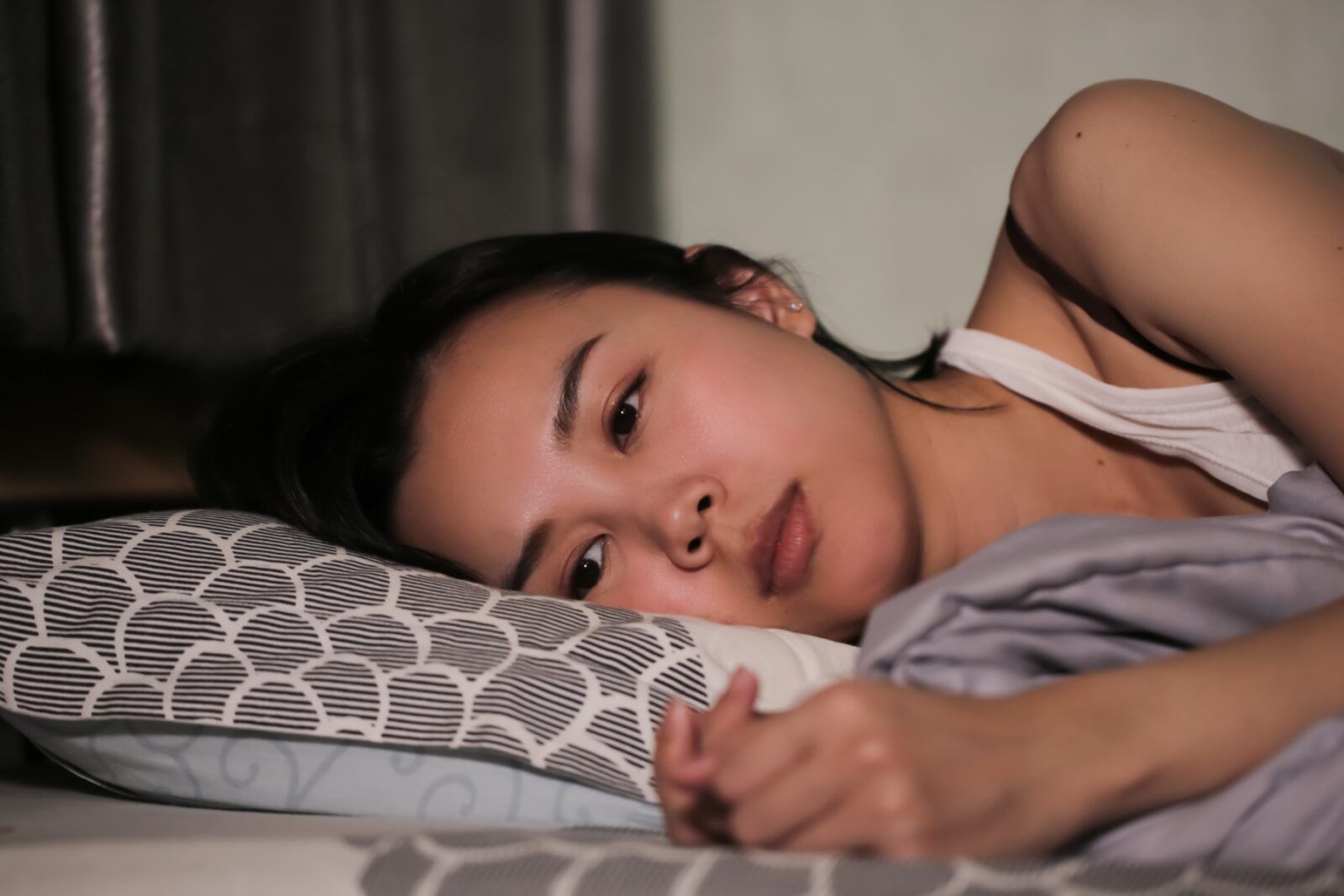 Young woman with suspected depression